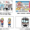 東葉高速鉄道 25周年で1日乗車券