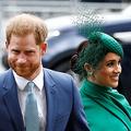 ヘンリー王子(左)とメーガン妃(ロイター)