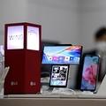 韓国のLG電子は5日の取締役会でモバイル事業からの撤退を決定した。同社のスマートフォン(資料写真)=(聯合ニュース)