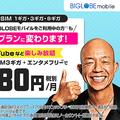 BIGLOBEモバイル、新料金プランの提供開始 従来の15〜25%値下げ
