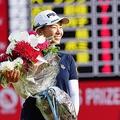 賞金女王は逃したもののメルセデス・ランキングで1位に輝いた(撮影:岩本芳弘)