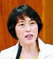 (写真)質問する田村智子議員=25日、参院行監委