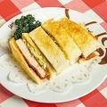 通常1300円の「ロースカツレツ」1枚分をパンに挟んだ「カツサンド」