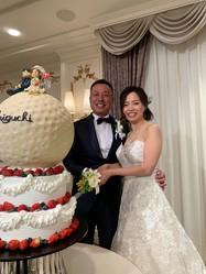 谷口拓也と一ノ瀬優希が結婚披露宴を開いた(撮影:ALBA)
