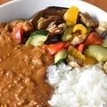 セブン-イレブンの冷凍食品「グリル野菜」でカレーが簡単に作れる