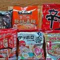 日本国内で発売された袋麺は246銘柄に及ぶ(2019年)