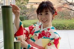 """松尾由美子アナ、門松の豆知識披露!竹が斜めカットになった""""きっかけ""""とは?"""