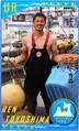 筋肉ムキムキ、漁師カードが誕生 「一...