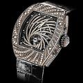 スイスの高級時計メーカー、リシャール・ミルの「トゥールビヨン・ダイヤモンド・ツイスター」(小売価格75万7000ユーロ=約8900万円)/from RichardMille.com