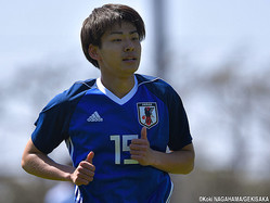 U-20日本代表MF斉藤光毅(横浜FC)