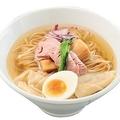 「鶏と魚の塩そば」(850円)/「ガチ麺道場」