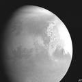 中国の火星探査機「天問1号」が撮影した火星。中国国家航天局(CNSA)提供(2021年2月5日提供)。(c)AFP PHOTO / China National Space Adminstration