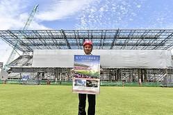 セレッソ大阪の森島寛晃社長が桜スタジアム建設募金団体代表理事に就任…「スタジアムを大阪のシンボルに」