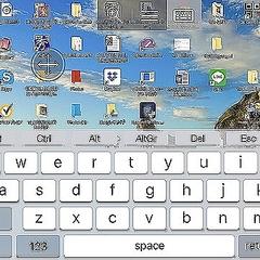 デスクトップ iphone リモート