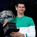 男子テニスのノバク・ジョコビッチ(2021年2月21日撮影)。(c)William WEST / AFP