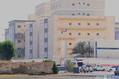 刃物による襲撃事件が発生した、在サウジアラビア・ジッダのフランス領事館(2020年10月29日撮影)。(c)Mohammed Ahmed / AFP