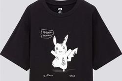 """ユニクロUTとポケモン&ダニエル・アーシャムのコラボTシャツ、""""結晶化した""""ピカチュウなどプリント"""