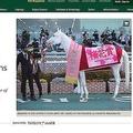 ソダシの桜花賞Vを特集する競馬専門誌「ブラッドホース」(画像は競馬専門誌「ブラッドホース」のHPより)