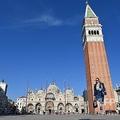 伊ベネチアのサンマルコ広場(2020年9月9日撮影)。(c)Alberto PIZZOLI / AFP