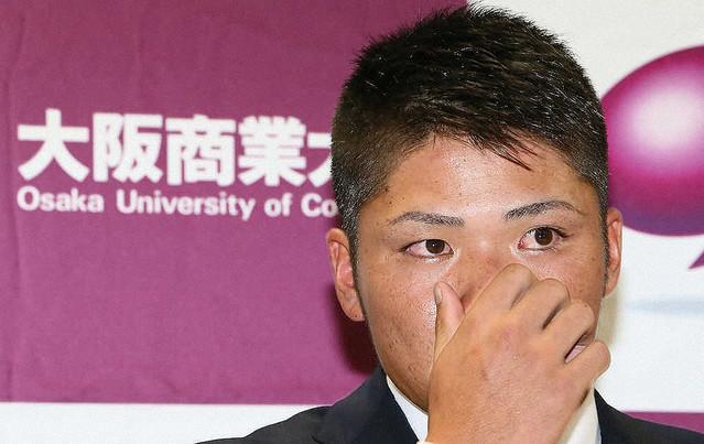 [画像] 阪神 育成1位 大商大・小野寺悔し涙「契約金で母にお金を返して手助けしようと思っていたので…」
