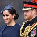 英王室のヘンリー王子(右)とメーガン妃。英ロンドンにて(2019年6月8日撮影)。(c)Daniel LEAL-OLIVAS / AFP