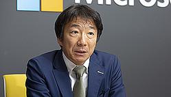 日本マイクロソフト コンシューマ&デバイス事業本部の檜山太郎執行役員常務