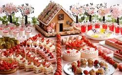 童話「お菓子の家」を桜×いちごで春らしく♡シェラトン都ホテル大阪、いちごブッフェ第2弾が3月スタート♩