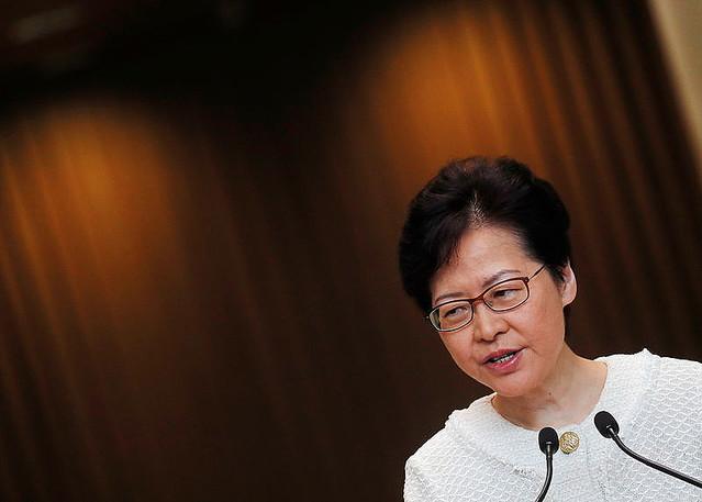 香港で来週から市民対話、林鄭長官が約束 抗議の収束不透明