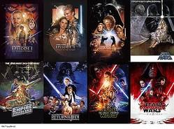 こちらは『スター・ウォーズ』歴代オリジナルポスター。映画、ドラマで今後どんな世界が展開するのか?