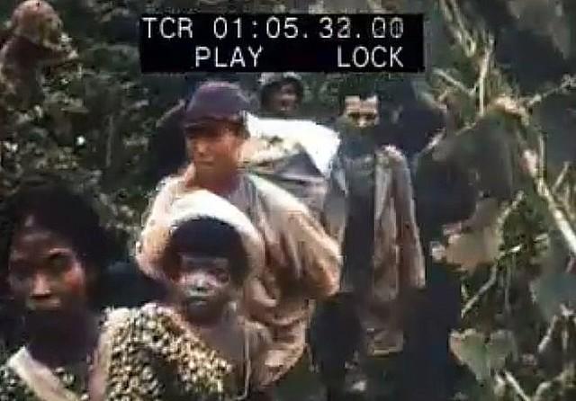 昭和20年の沖縄戦の様子をAI技術でカラー化!10分を超える貴重な映像が公開されました