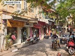 23日、環球時報は、アジアタイムズの記事を引用し、メード・イン・ベトナムはメード・イン・チャイナに取って代わることはできないとする記事を掲載した。写真はベトナムの首都ハノイ。