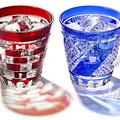 江戸切子が「名探偵コナン」とコラボ キャライメージのグラス発売