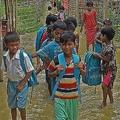 バングラ南東部を豪雨が襲い、難民キャンプに住むロヒンギャの窮状に拍車をかけている/Salman Saeed