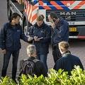 オランダ首都アムステルダムで発生した、弁護士射殺事件の現場(2019年9月18日撮影)。(c)Michel van Bergen / ANP / AFP