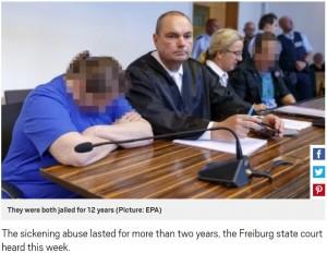[画像] 【海外発!Breaking News】闇サイトで小児性愛者へ9歳息子を売ったカップルに12年の懲役刑(独)