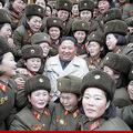 北朝鮮軍女性中隊を視察した金正恩氏(2019年11月25日付朝鮮中央通信より)