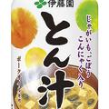 10月22日発売の「とん汁」(伊藤園ホームページより)
