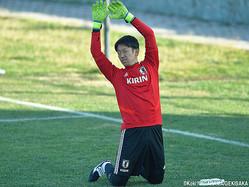 ペースを見極めつつ調整する日本代表GK権田修一(ポルティモネンセ)