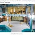 24時間客室からホッキョクグマを観察できるホテル(画像は『Oddity Central 2021年3月15日付「Controversial Hotel That Offers 24/7 View of Captive Polar Bears Draws Criticism」(Photo: China News Service)』のスクリーンショット)