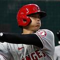 「4番・DH」で先発出場したエンゼルス・大谷翔平【写真:Getty Images】