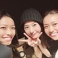 榮倉奈々・吉高由里子・大島優子が集合(画像は『榮倉奈々 2018年11月3日付Instagram「いつかの第?出動」』のスクリーンショット)