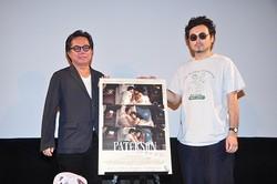 映画評論家の松崎健夫氏(写真左)と共に