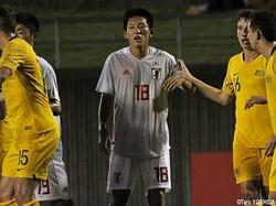 U-18日本代表CB岸本駿朔は完封勝利に貢献した