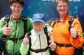 103歳の米男性のスカイダイビングが話題 ギネス記録を塗り替える