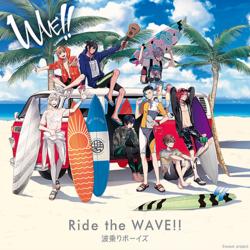 サーフィンを題材にした新プロジェクト「WAVE!!」より、前野智昭はじめ豪華声優陣が歌うテーマ曲『Ride the WAVE!!』が配信開始に!!