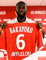 今夏に復帰したモナコでは「6番」を付けているバカヨコだが…。(C)Getty Images