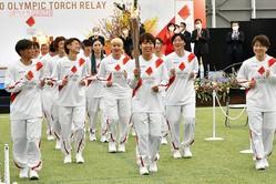 """2021年3月、福島県から聖火リレーがスタート。サッカー""""なでしこジャパン""""の面々"""