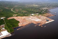 2008年のラ・ウニオン港 photo by CEPA