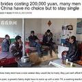 世界が唖然とする中国流「結婚できない理由」(画像は『Shanghaiist 2017年2月23日付「With brides costing 200,000 yuan, many men in rural China have no choice but to stay single」(看看新闻)』のスクリーンショット)