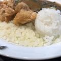 カリフラワーご飯…カレーを実食